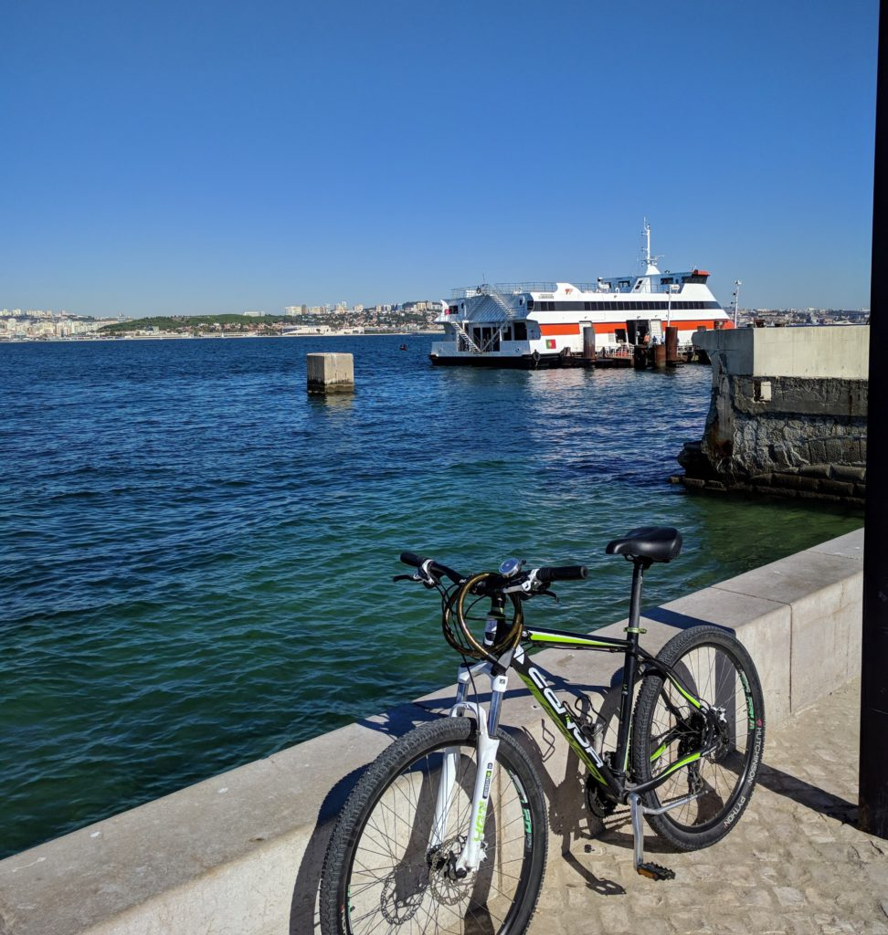cycle tour from Lisbon